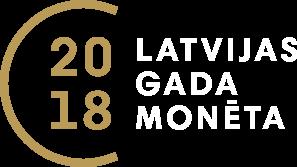 Latvijas gada monēta 2018