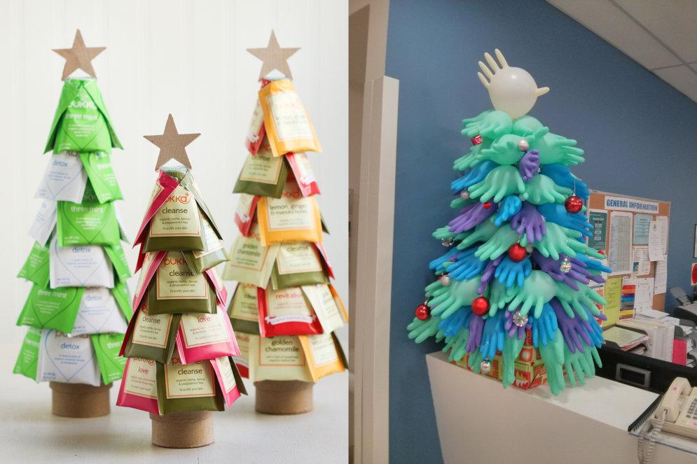 Не просто звезды и хлопушки: 10 оригинальных идей для новогодней елочки