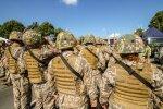 Ādažos militāro karjeru sāks 65 profesionālajā dienestā pieņemtie karavīri