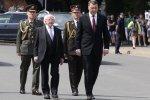 Foto: Īrijas prezidents ar kundzi viesojas Latvijā