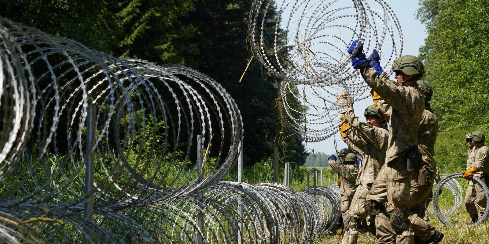 Pārsteidza nesagatavotus: lietuviešu cīņa pret nelegālo migrāciju no Baltkrievijas