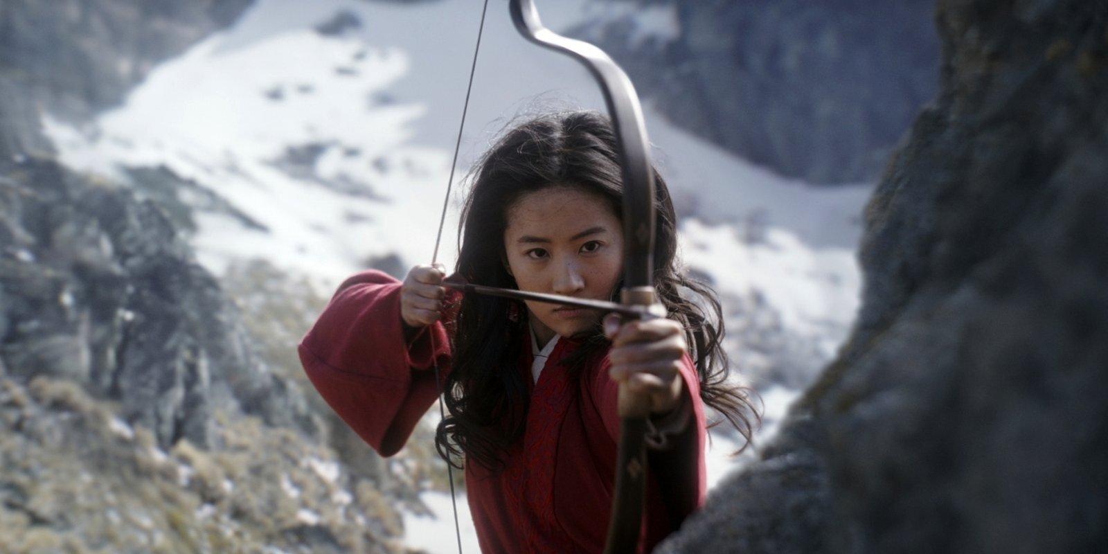 Siņdzjanā filmēto skatu dēļ aicina boikotēt 'Mulanu'