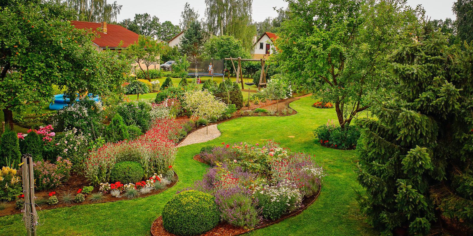 Dārzā uzplaukst draudzība. Stāsts par diviem kaimiņiem Ogrē