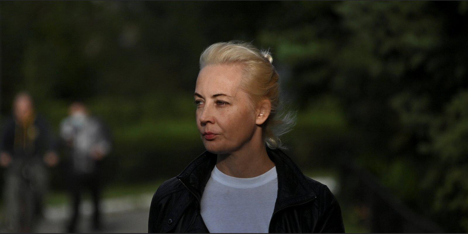 Jūlija Navaļnaja: Krievijas opozīcijas pirmā lēdija