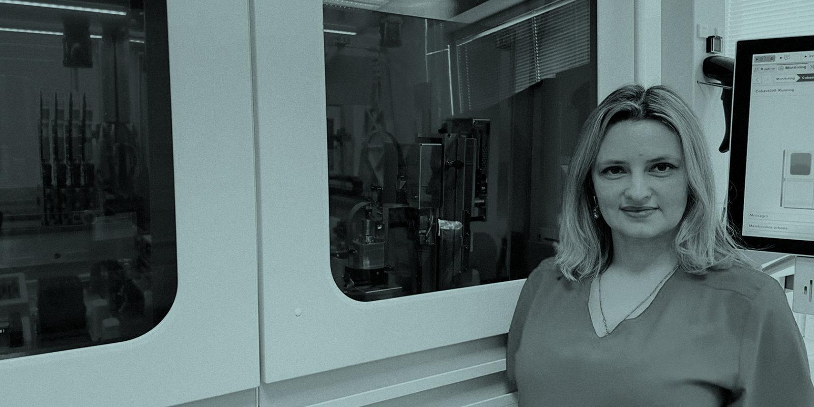 'Kā bunkurā.' Laboratorijas speciālistes Gaļinas Muzjes pandēmijas epicentrs