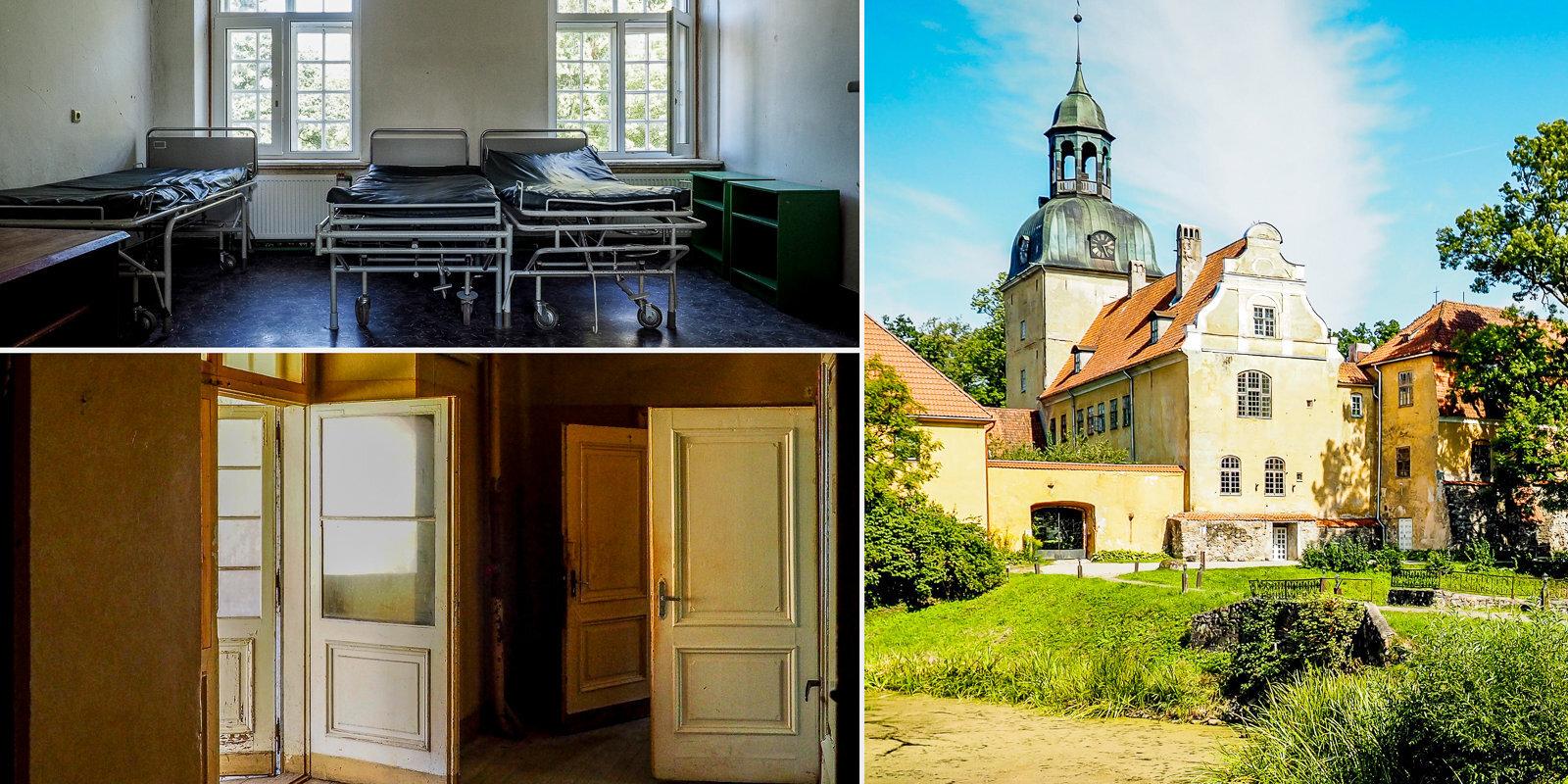 От больницы до туристического объекта: как сейчас выглядит Лиелстраупский замок?