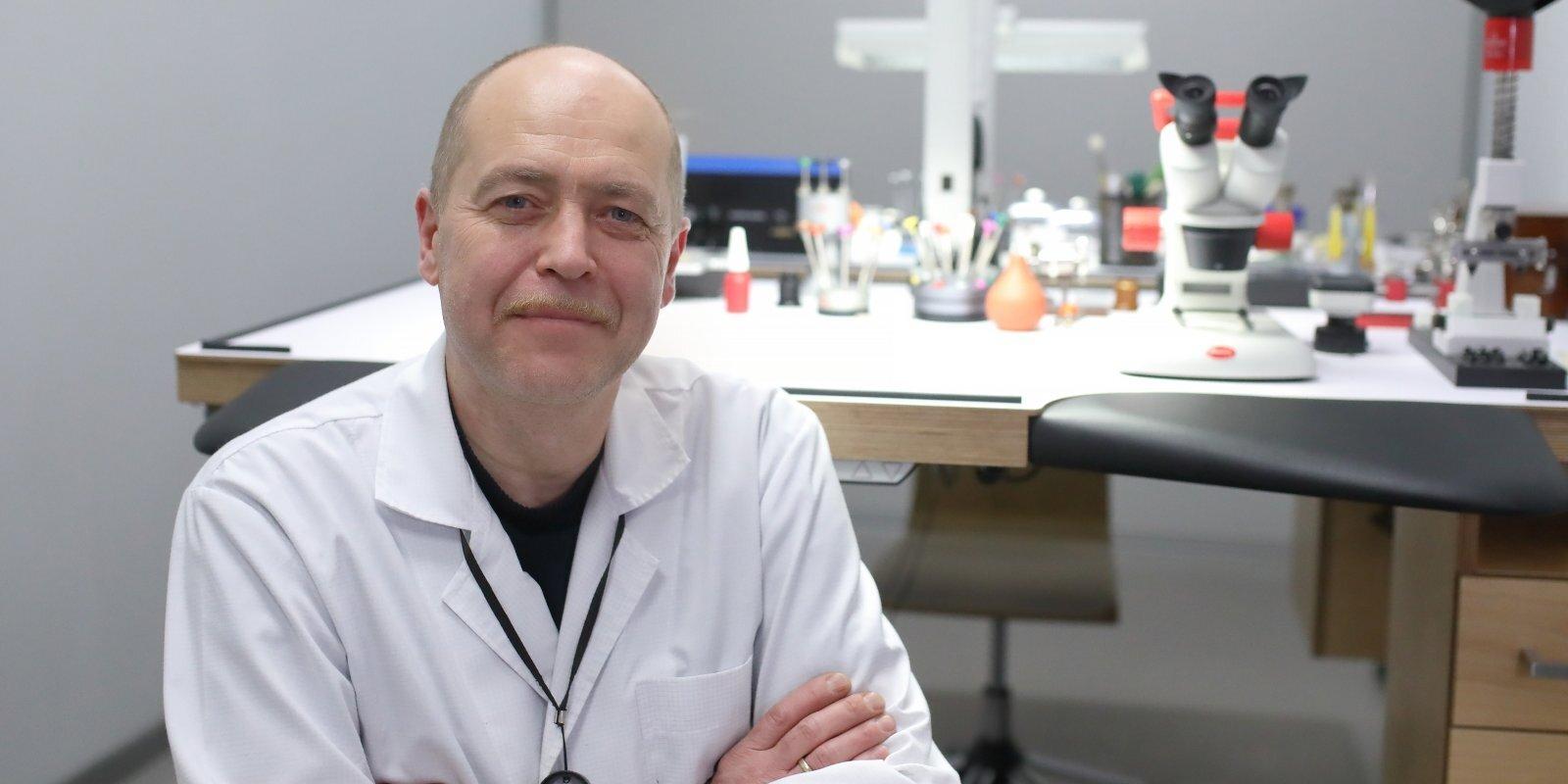 Pulksteņu ķirurgs jau vairāk nekā 40 gadus – Ervīns Undelis