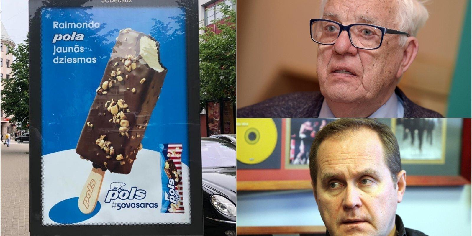 'Raimonds Pols': reklāmistu provokācija vai pārkāpums