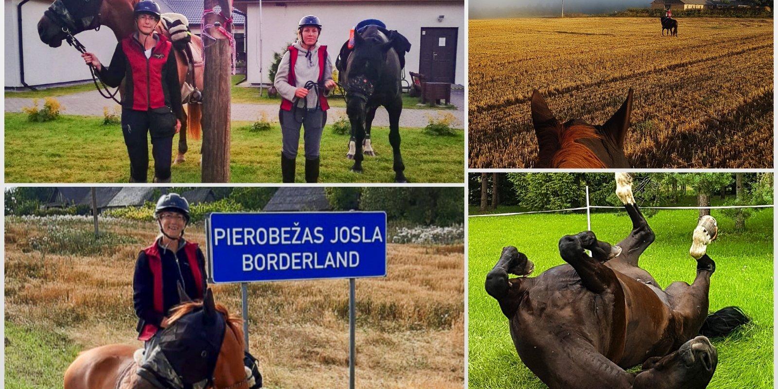 Apkārt Latvijai zirga mugurā: Tīnas un Līgas stāsts