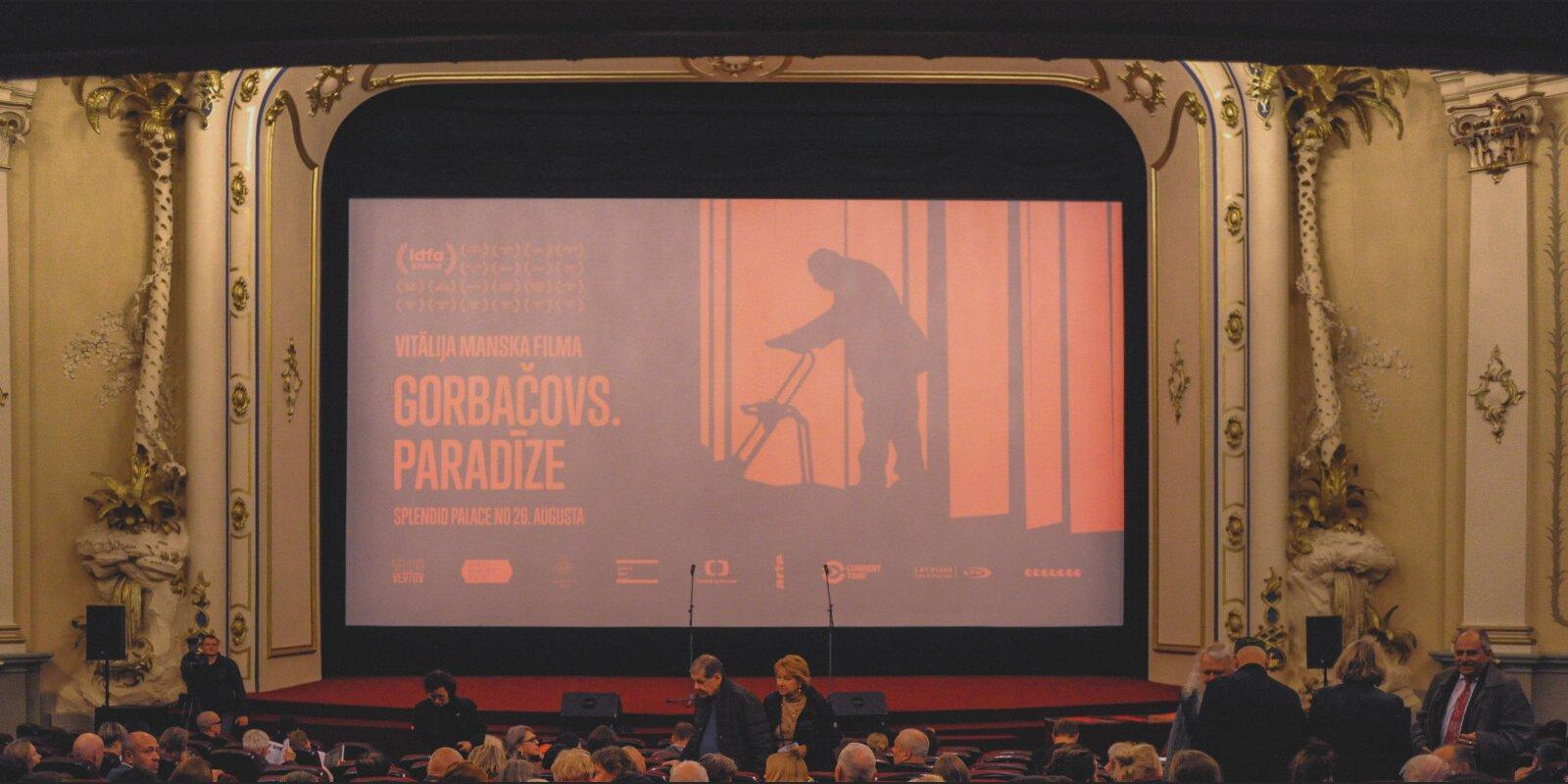 """Сколько в нас soveticus? В Латвии вышли в прокат фильмы """"Горбачев.Рай"""" и Homo Sovetiсus"""