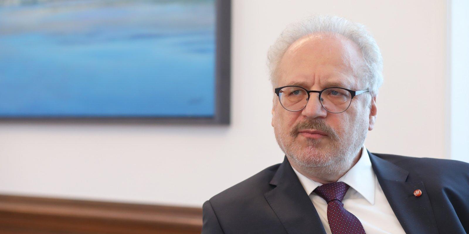 Levits: globālā ekonomika transformējas, un Latvijai tas jāizmanto