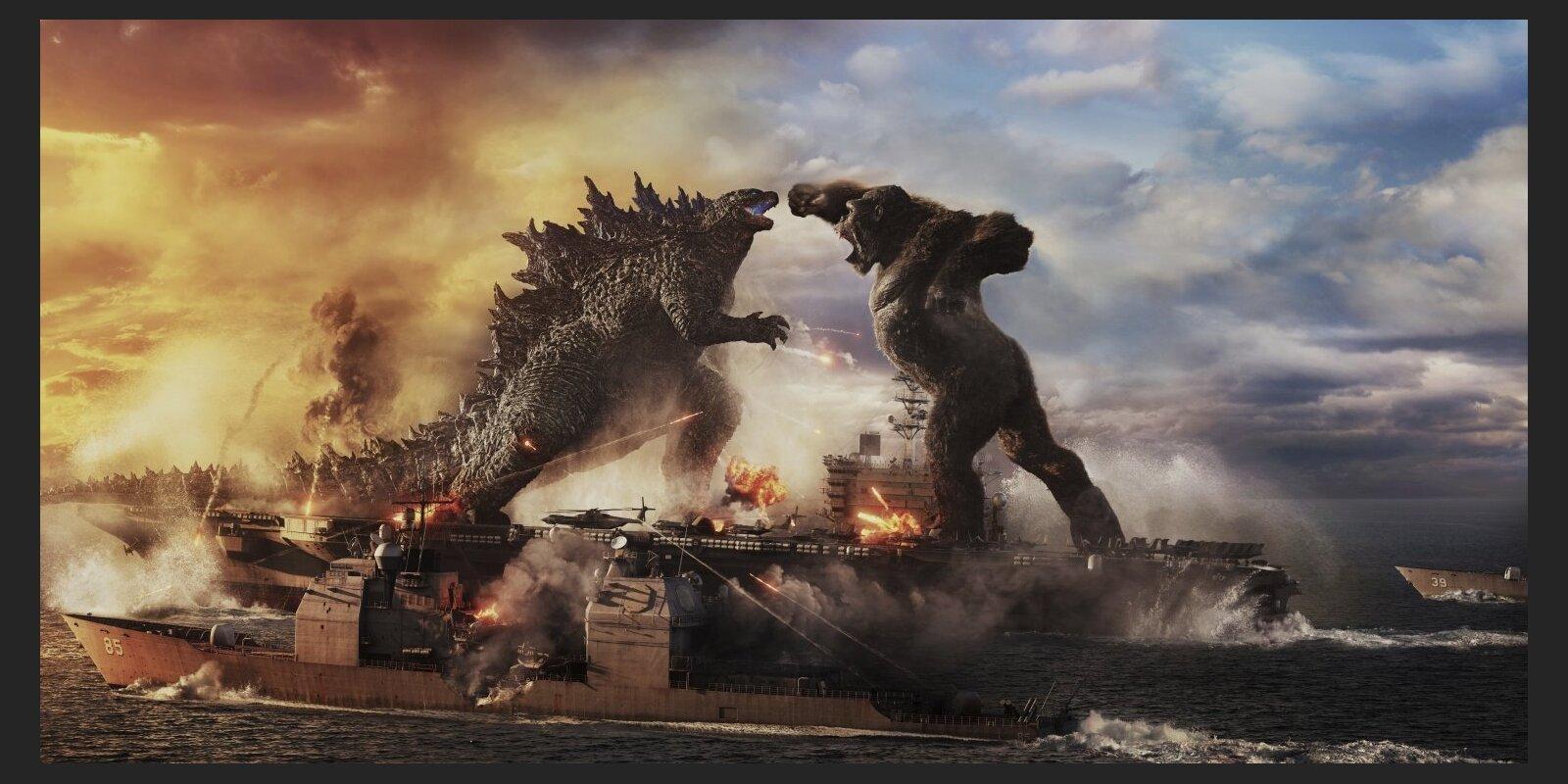 'Godzilla vs. Kong' testē pasaules ūdeņus: filmas rezultāti labākie pandēmijas laikā