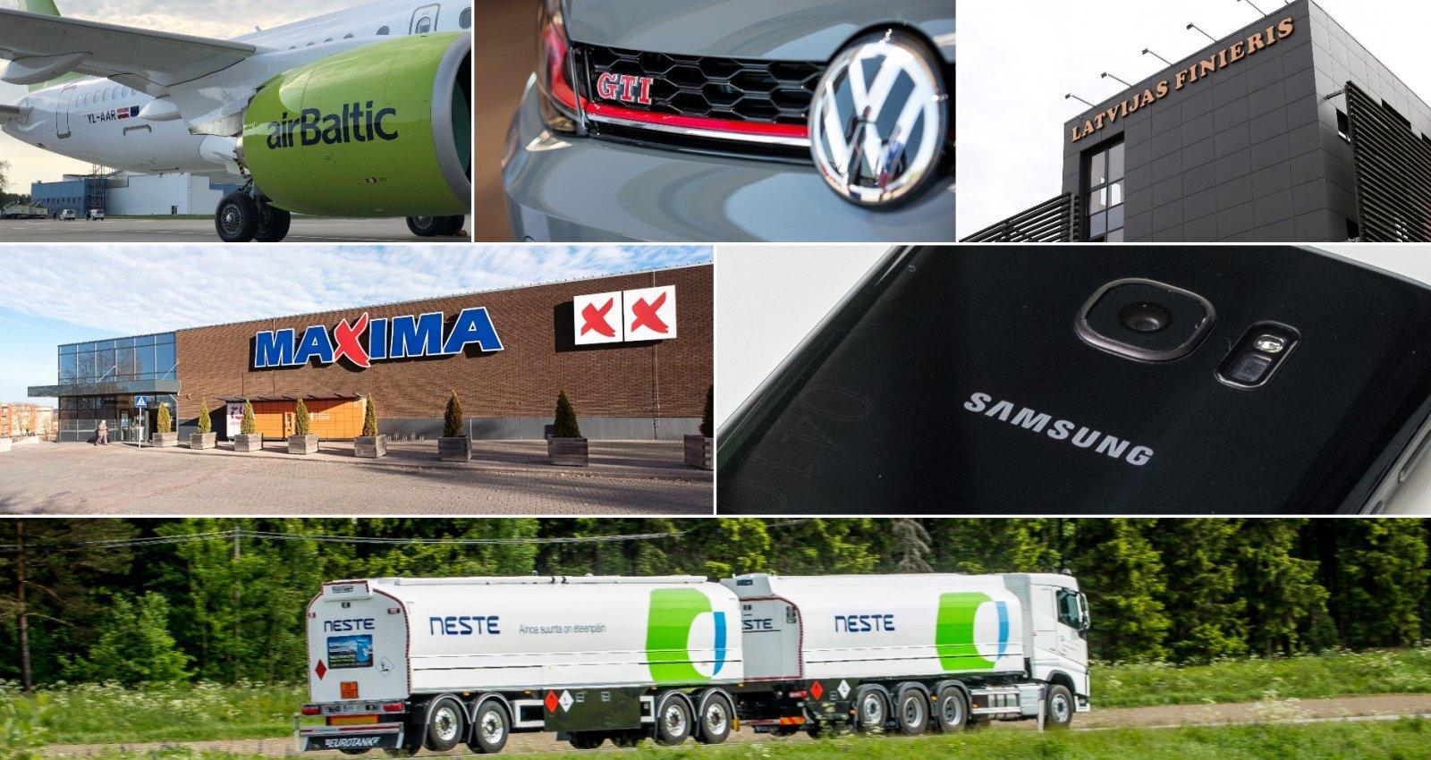 Jaunākais reitings: top 100 preču importētāji Latvijā