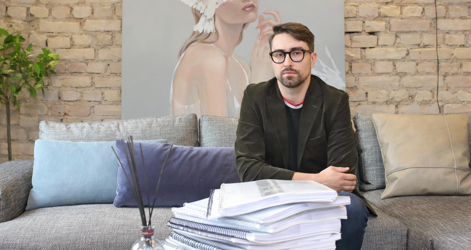 Interjera dizainers Ēriks Karlsons: nelielam bardaciņam nav ne vainas