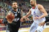 'VEF Rīga' piekāpjas Eiropas spēcīgākajai basketbola komandai CSKA