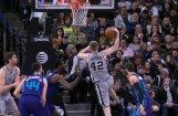 Video: Bertāns NBA dienas TOP 10 debitē ar pirmo vietu