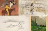 Ģēniju pirmie soļi mākslā jeb Pasaulslavenu mākslinieku jaunības dienu darbi