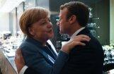 Makrona idejas var stiprināt franču-vācu asi, domā Merkele