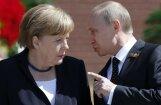 Меркель и Путин: Транзит газа из РФ через Украину сохранится
