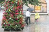 Nākamās nedēļas sākumā valsts lielākajā daļā īslaicīgi līs