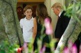 СМИ рассказали о первом учебном дне младших детей Трампа