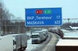 Латвийский экспорт в Россию рухнул на десятки миллионов евро