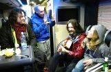 Video: 'Gogol Bordello' pēc Rīgas koncerta iedzied īpašu 'Wonderlust King' versiju