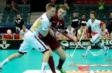 Latvijas florbola izlase izcīna pirmo uzvaru pasaules čempionātā