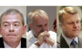 Zatlers: Latvijas oligarhi ir Šķēle , Šlesers un Lembergs