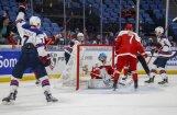 Junioru hokeja PČ pirmā diena: iespaidīgas sagrāves un 'rakstura uzvaras'