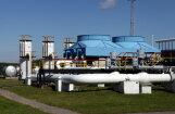 Природный газ из подземного хранилища в Латвии начал поступать к литовским потребителям