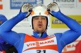 Soču olimpisko spēļu medaļas pazaudē arī kamaniņu sporta braucēji Demčenko un Ivanova