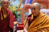 Foto: Dalailama vizītē Latvijā uzteic Eiropas Savienības garu