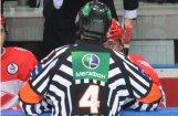 No Latvijas tiesnešiem KHL spēles nākamajā sezonā vadīs vien Odiņš un Balodis
