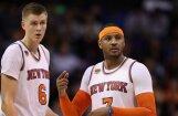 Neapmierināts ar situāciju komandā, Porziņģis neapmeklē sezonas noslēdzošo 'Knicks' sanāksmi