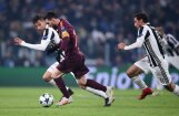 Mesi nākot no rezervistu soliņa, 'Barcelona' cīnās neizšķirti ar 'Juventus'