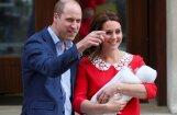 Foto: Lepnie vecāki parāda pasaulei jaundzimušo princi