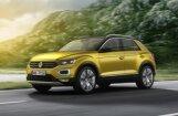 VW parādījis savu mazāko apvidnieku 'T-Roc'