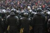 В Кишиневе полиция применила слезоточивый газ против протестующих