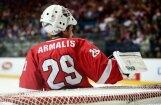 Lietuvas izlases vārtsargs Armalis oficiāli pievienojas Rīgas 'Dinamo'; Pīterss dodas prom