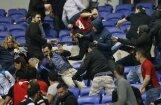 ВИДЕО, ФОТО: Начавшийся с беспорядков матч в Лионе, завершился волевой победой хозяев