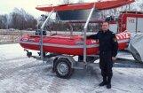 Aizkraukles glābēji saņēmuši jaunu piepūšamo laivu