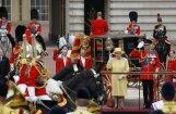 Фоторепортаж: парад в честь дня рождения Елизавета II