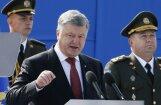 Ukraina ir gatava dot stingru militāru pretsparu agresoram, apliecina Porošenko