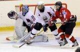 Latvijas U -18  hokeja izlase pārbaudes spēlē pieveic Baltkrievijas vienaudžus