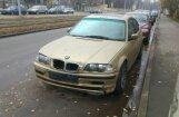 ФОТО: Жители нашли BMW, повредивший на Югле несколько автомобилей
