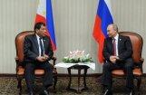 Дутерте свернул визит в Москву и срочно возвращается на Филиппины