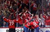 Video: 'Capitals' Stenlija kausa izcīņu sāk ar uzvaru pagarinājumā pār 'Maple Leafs'