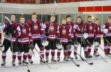 Latvijas U-18 hokejisti pasaules čempionāta spēlē piekāpjas arī spēcīgajai Somijai