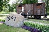 Torņakalna stacijas piemiņas vagons kļuvis par Rīgas domes īpašumu